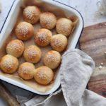 Mediterranean Cheese Stuffed Bread Rolls